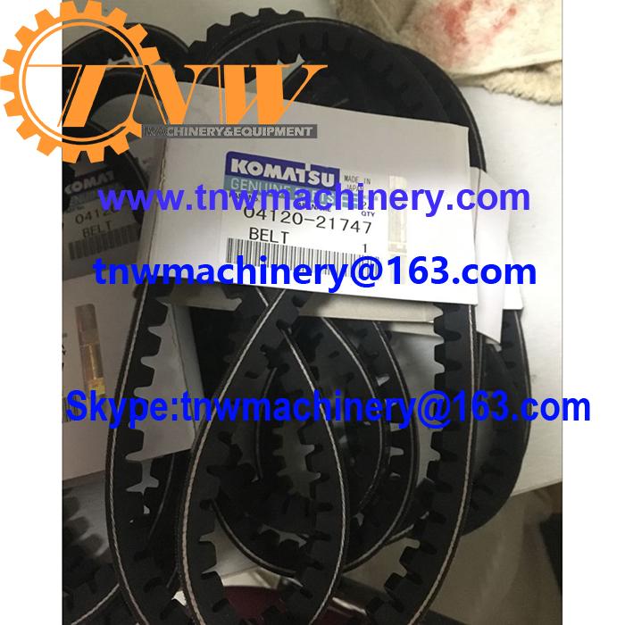 KOMATSU 4D95 engine 04120-21747 V-belt for D21A-7 D20P-7A